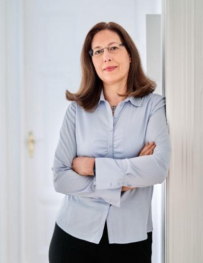 Geschäftsführerin Kirstin Lux